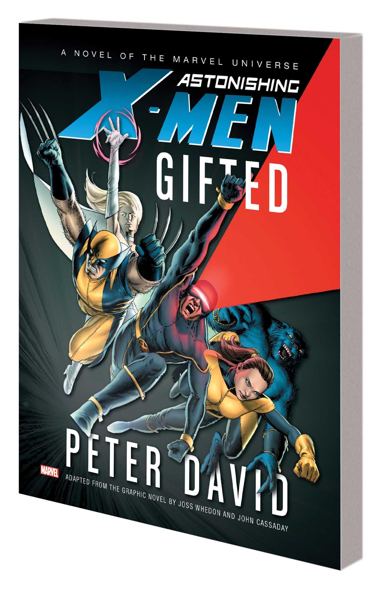 ASTONISHING X-MEN: GIFTED PROSE NOVEL MASS MARKET PAPERBACK (Trade Paperback)