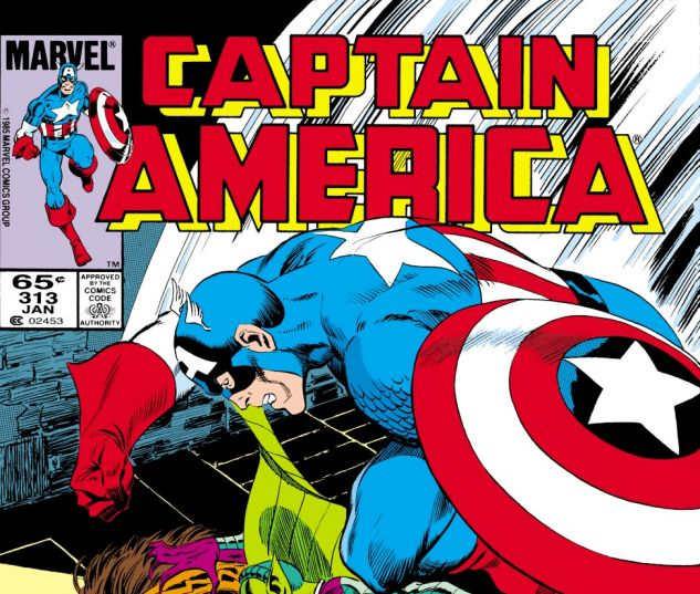 Captain America (1968) #313 Cover
