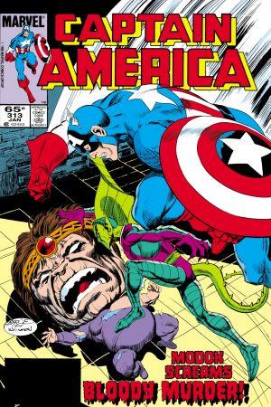 Captain America  #313