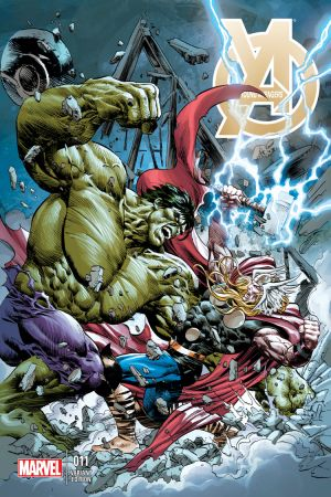 Young Avengers (2013) #11 (Deodato Thor Battle Variant)