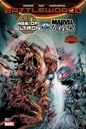 Age of Ultron Vs. Zombies #2