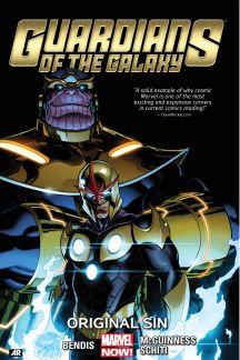 Guardians of the Galaxy Vol. 4: Original Sin (Trade Paperback)