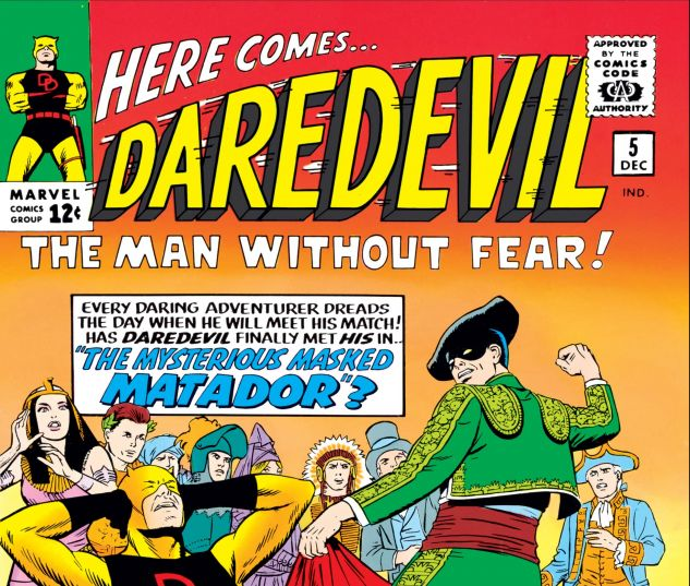 DAREDEVIL (1964) #5 Cover
