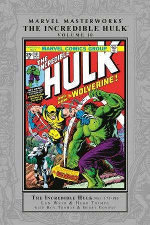 Marvel Masterworks: The Incredible Hulk Vol. 10 (Hardcover)