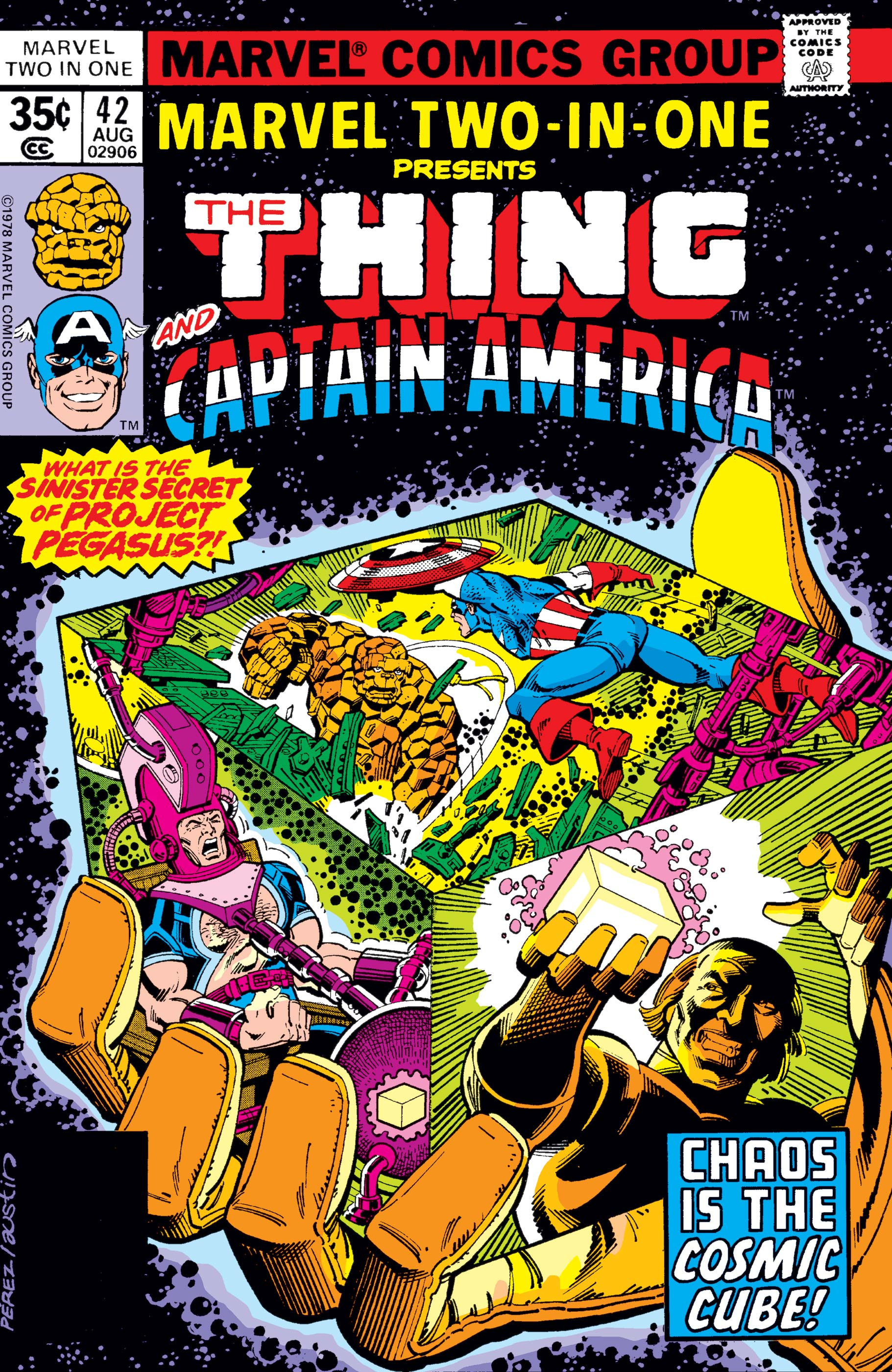 Marvel Two-in-One (1974) #42