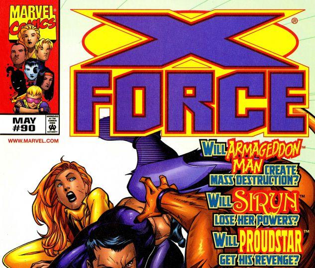 X-Force (1991) #90