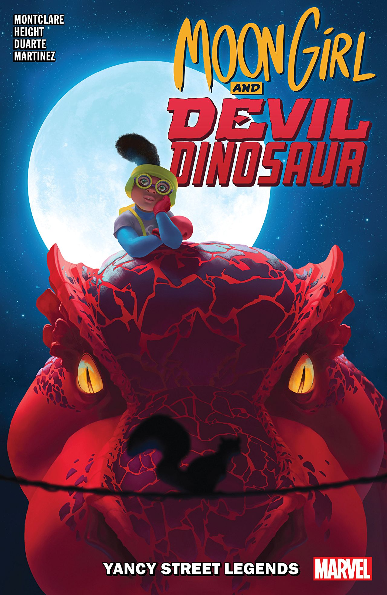 Moon Girl And Devil Dinosaur Vol. 8: Yancy Street Legends (Trade Paperback)
