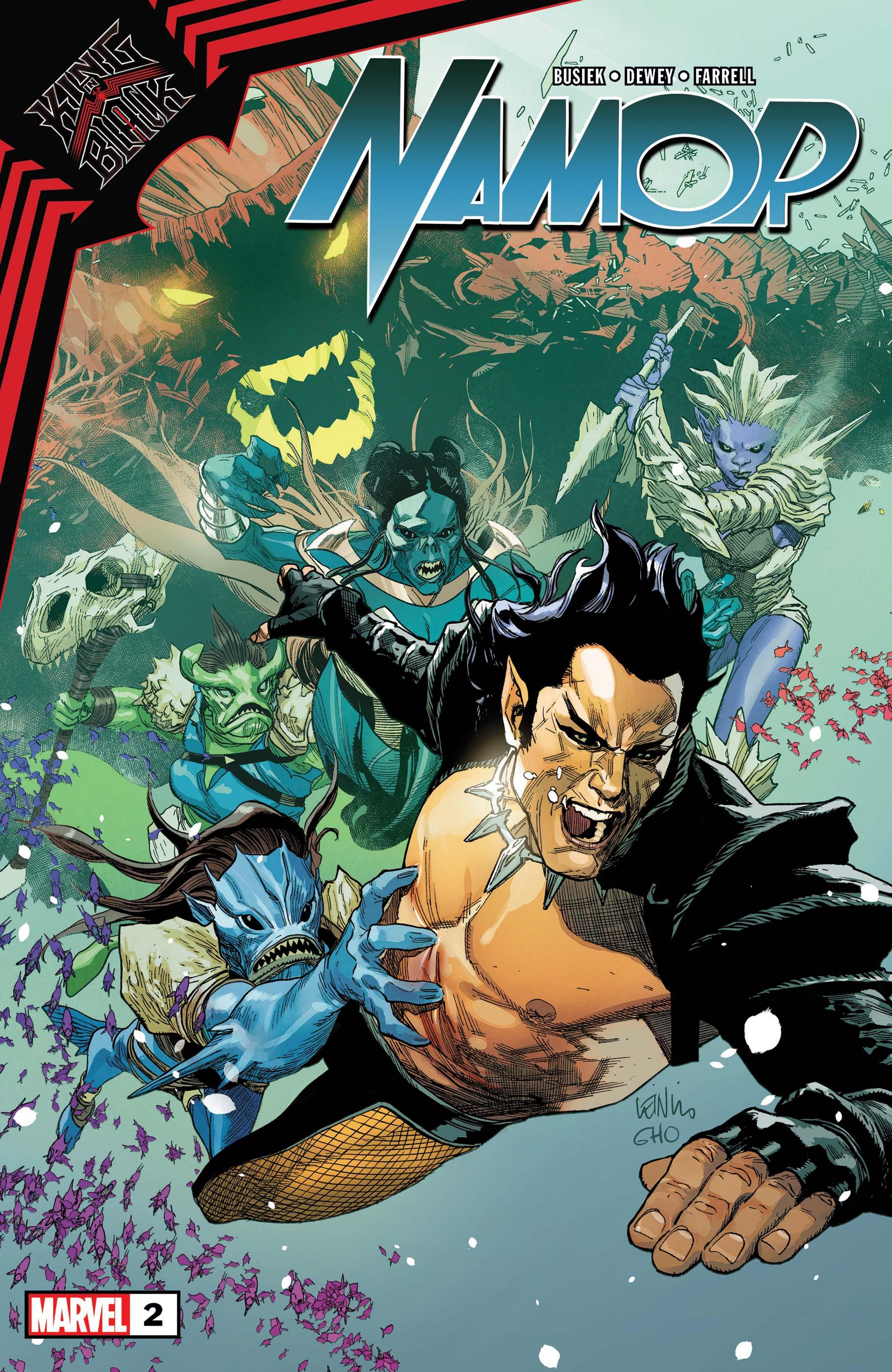 King in Black: Namor (2020) #2