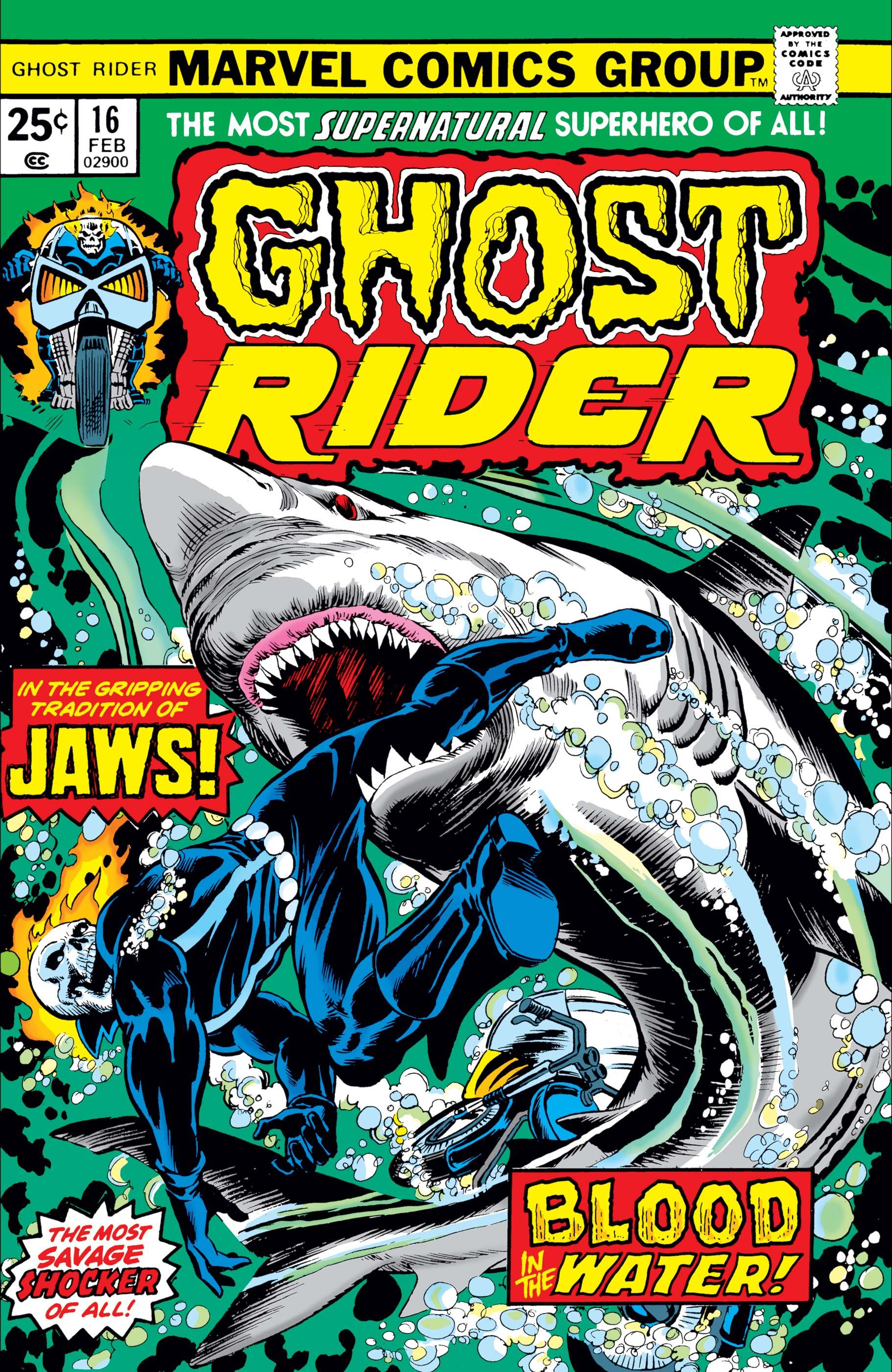 Ghost Rider (1973) #16