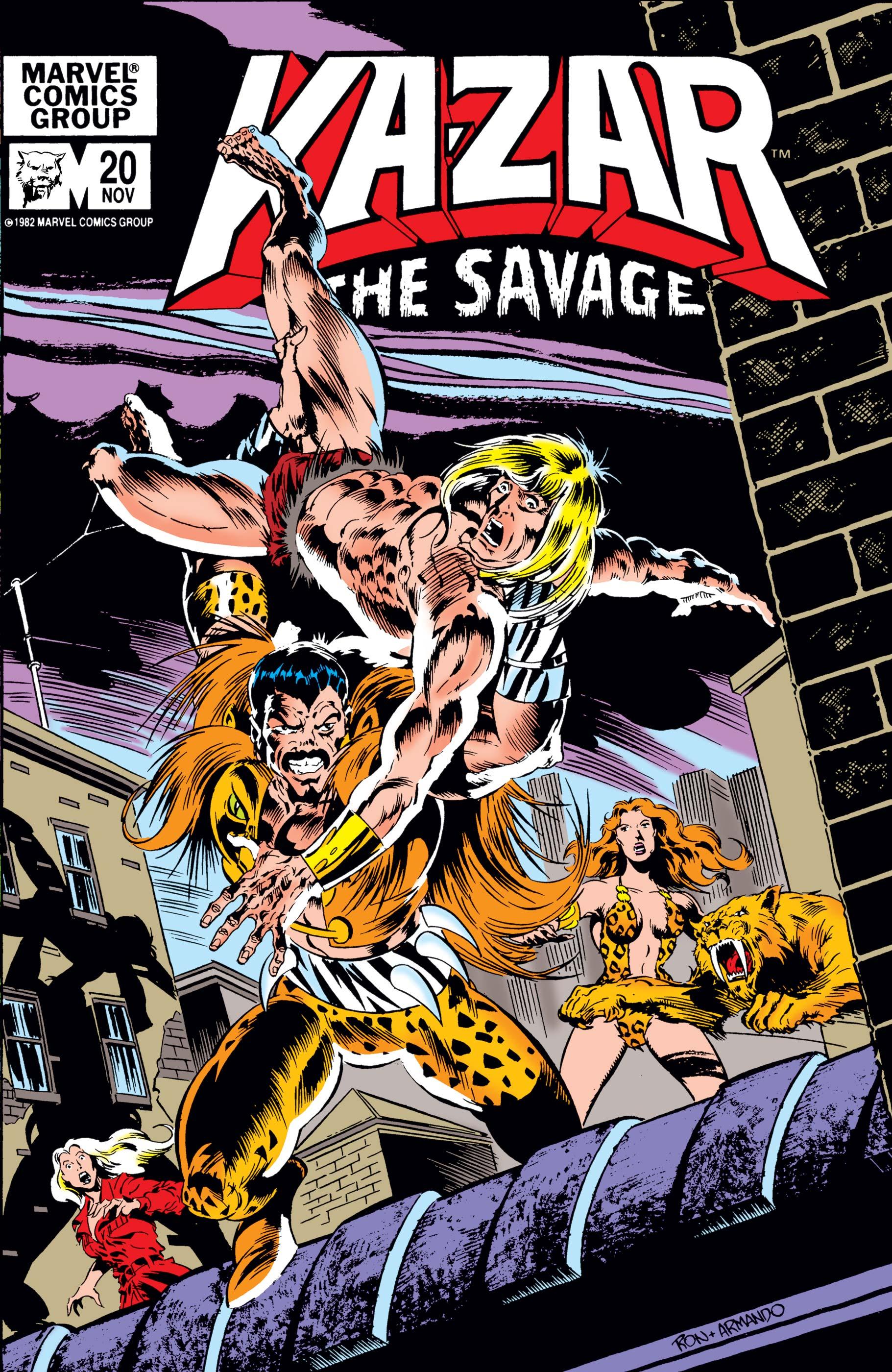 Ka-Zar (1981) #20