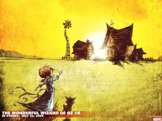 The Wonderful Wizard of Oz (2008) #8 Wallpaper
