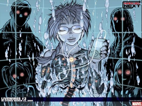 Livewires (2005) #2 Wallpaper