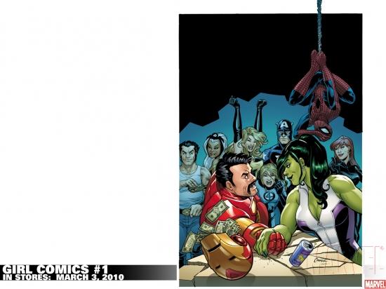 Girl Comics (2010) #1 Wallpaper