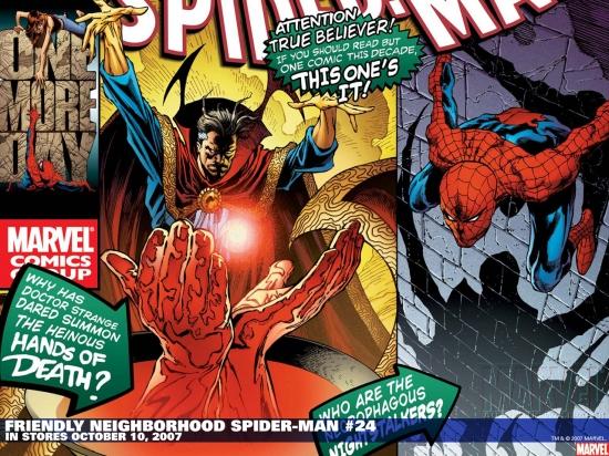 Friendly Neighborhood Spider-Man (2005) #24 Wallpaper