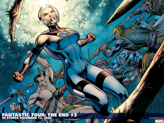 Fantastic Four: The End (2006) #3 Wallpaper
