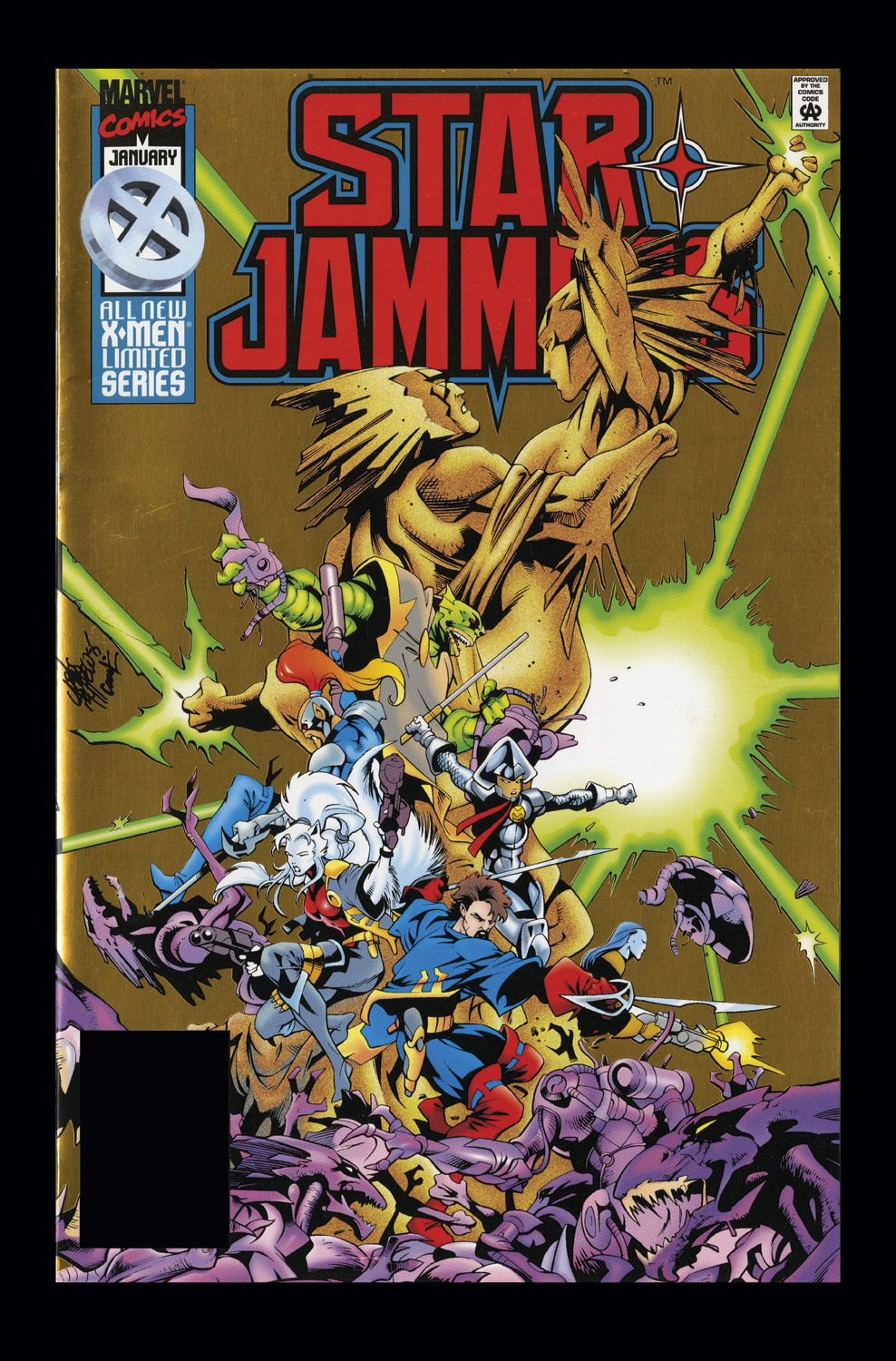 Starjammers (1995) #4