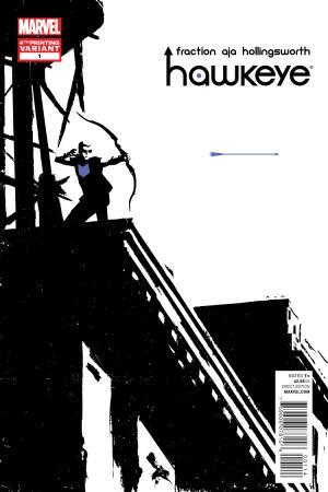 Hawkeye (2012) #1 (Aja 4th Printing Variant)