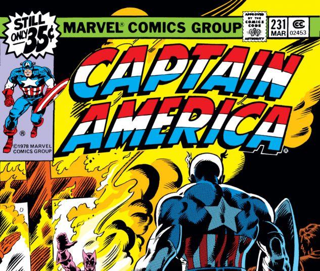 Captain America (1968) #231 Cover