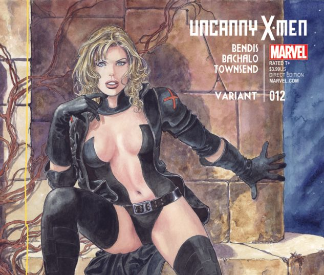 UNCANNY X-MEN 12 MANARA EMMA FROST VARIANT (BOTA, WITH DIGITAL CODE)
