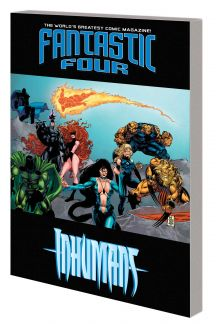 Fantastic Four/Inhumans: Atlantis Rising (Trade Paperback)