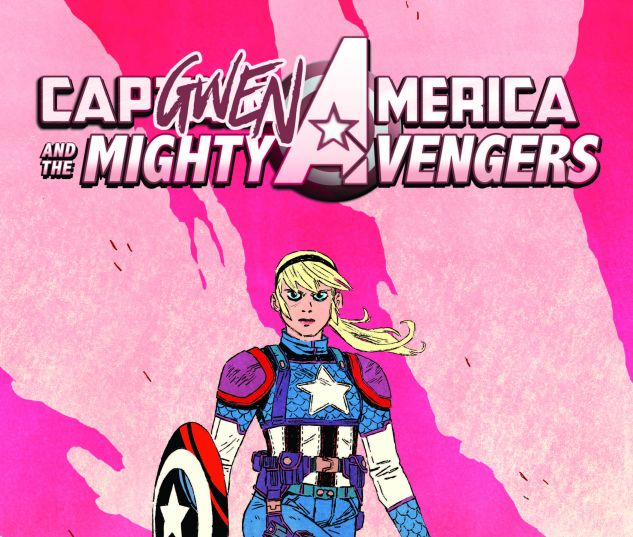 CAPTAIN AMERICA & THE MIGHTY AVENGERS 9 WYATT CAPGWEN AMERICA VARIANT (SW, WITH DIGITAL CODE)