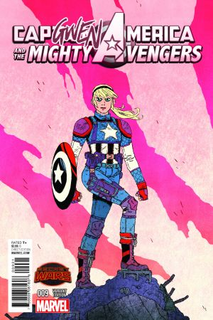 Captain America & the Mighty Avengers (2014) #9 (Wyatt Capgwen America Variant)