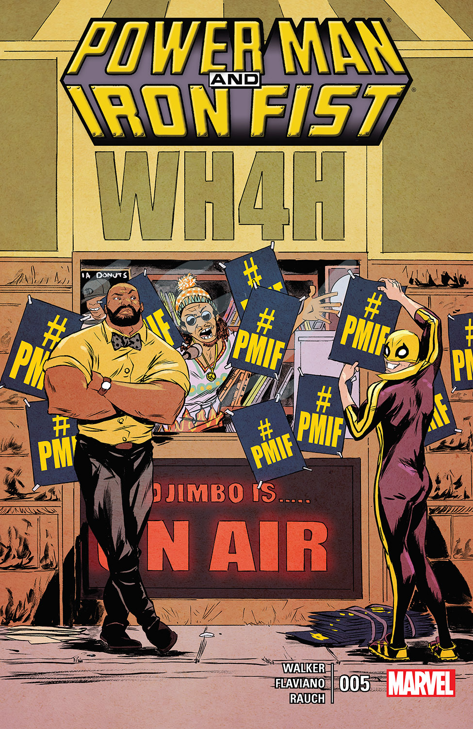 Power Man and Iron Fist (2016) #5