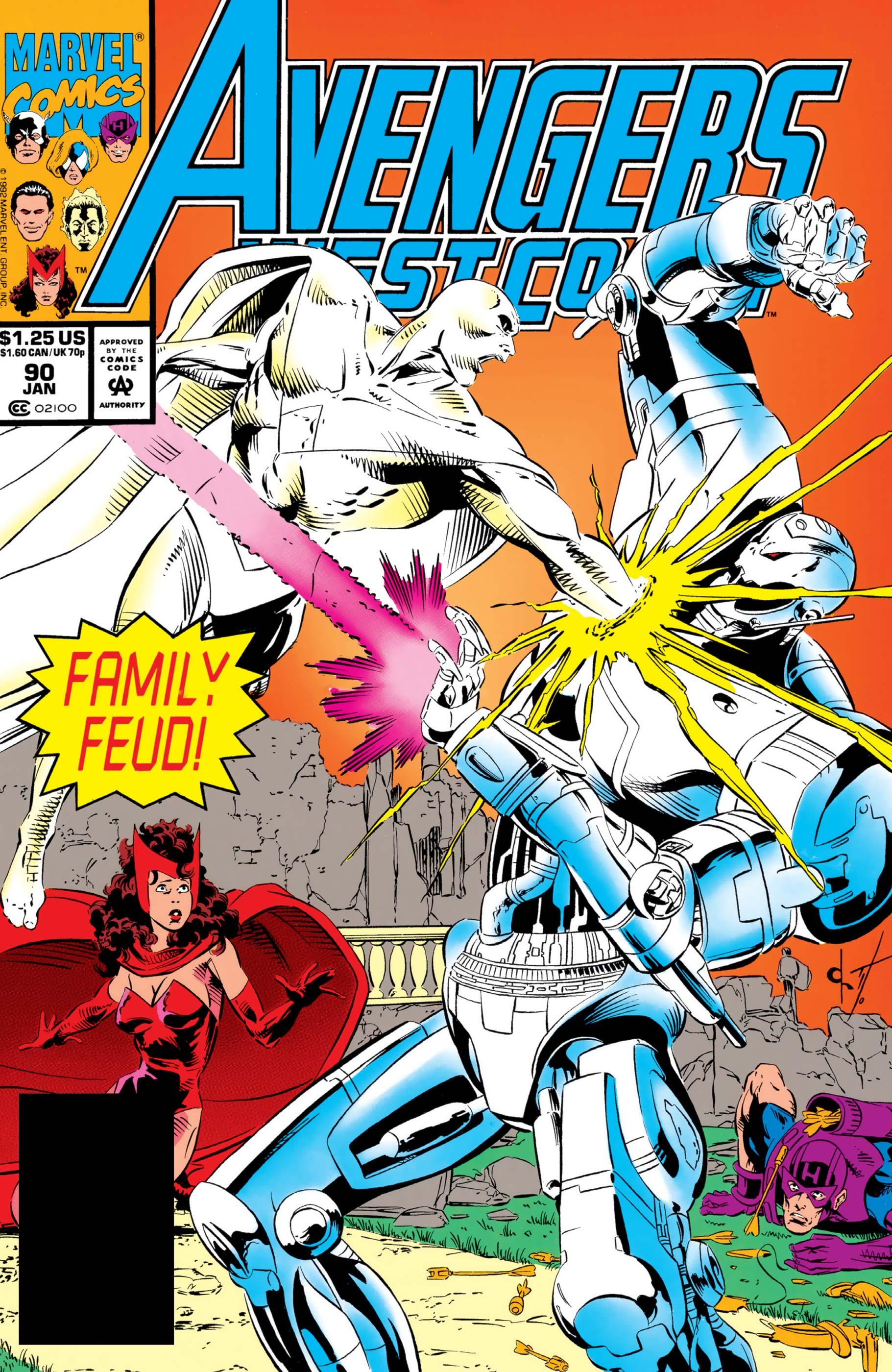 Avengers West Coast (1985) #90