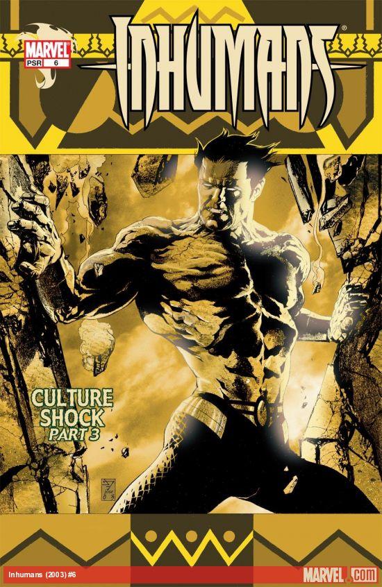 Inhumans (2003) #6