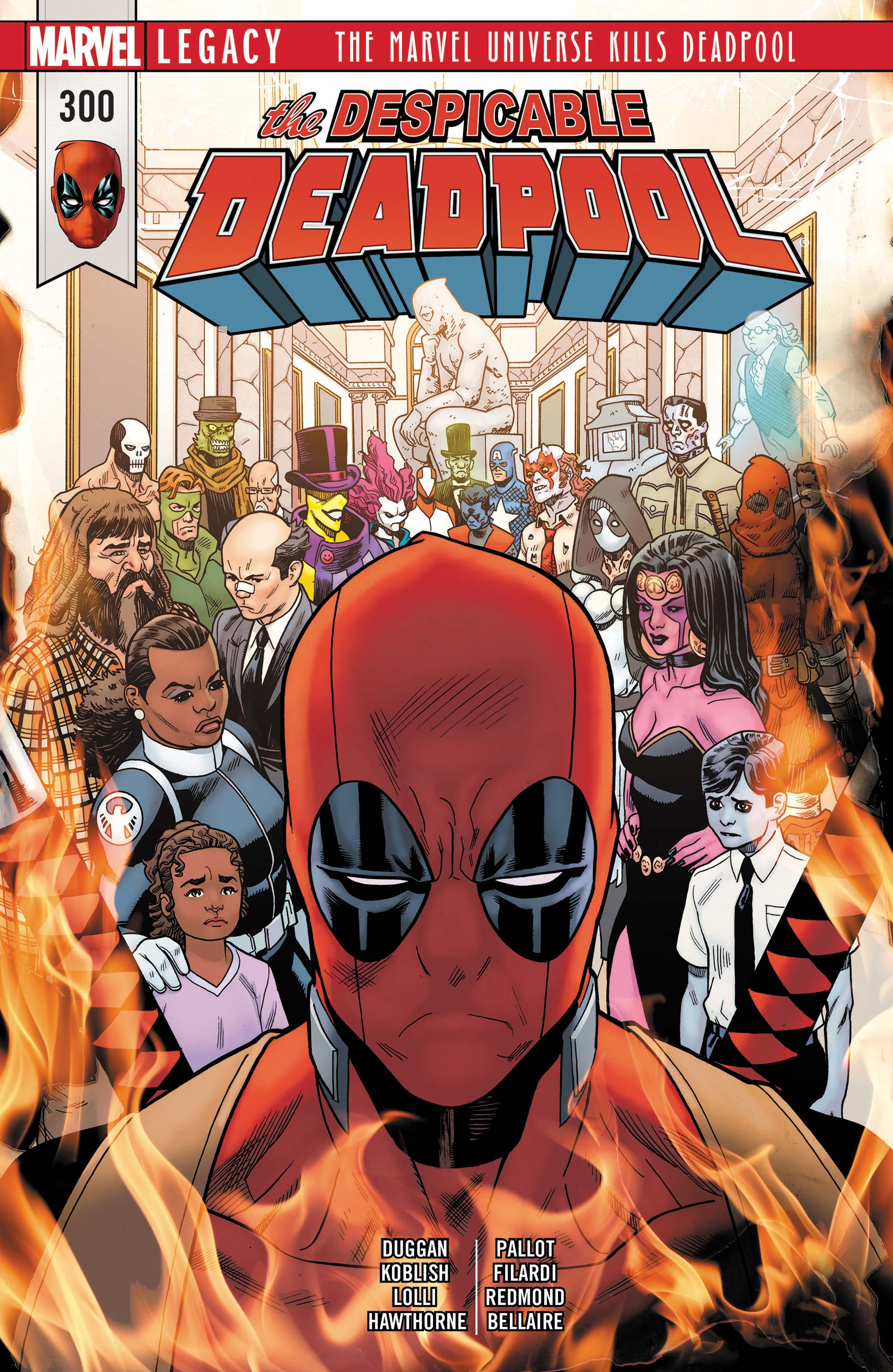 Despicable Deadpool (2017) #300