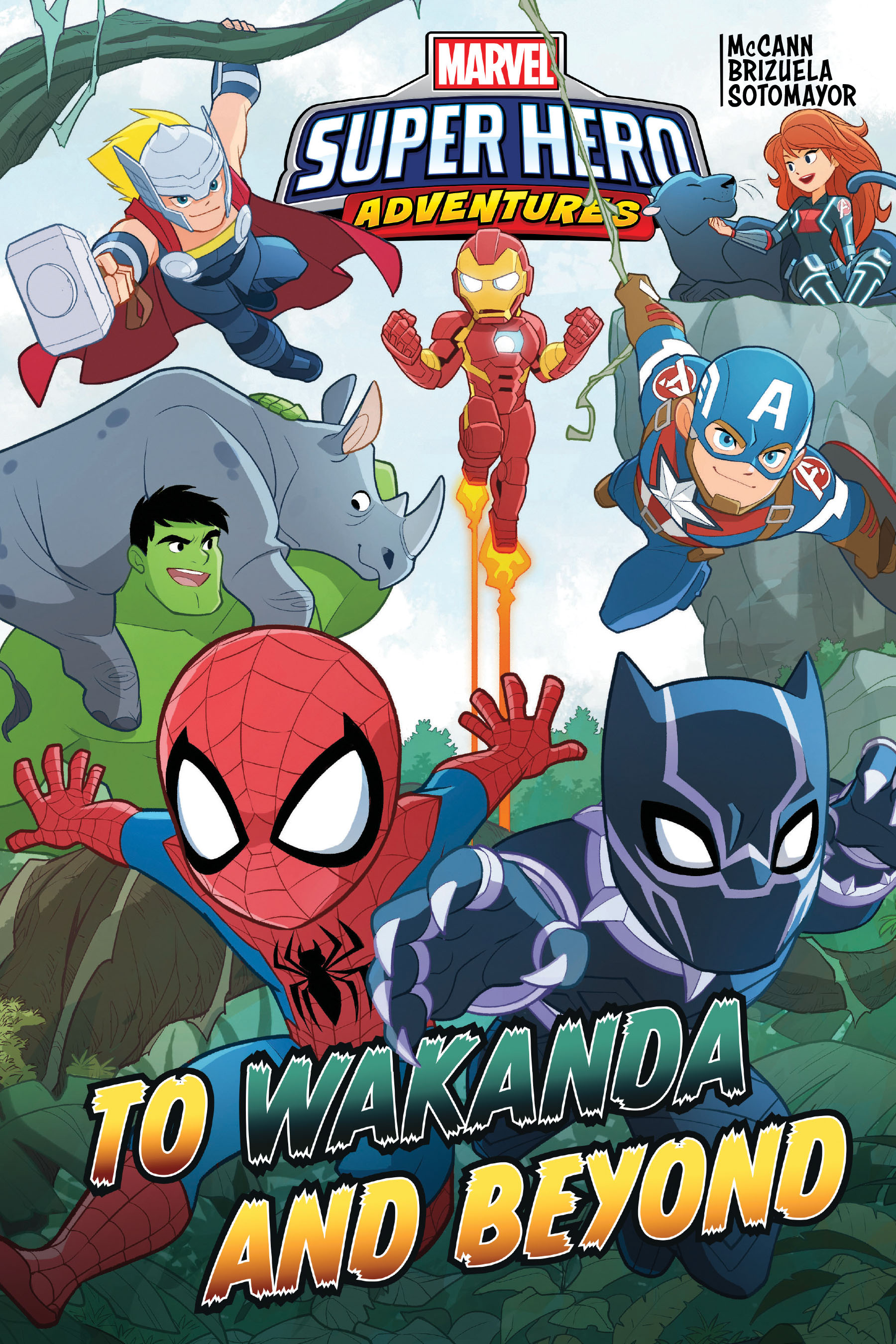 Marvel Super Hero Adventures: To Wakanda and Beyond (Trade Paperback)