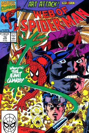 Web of Spider-Man (1985) #74