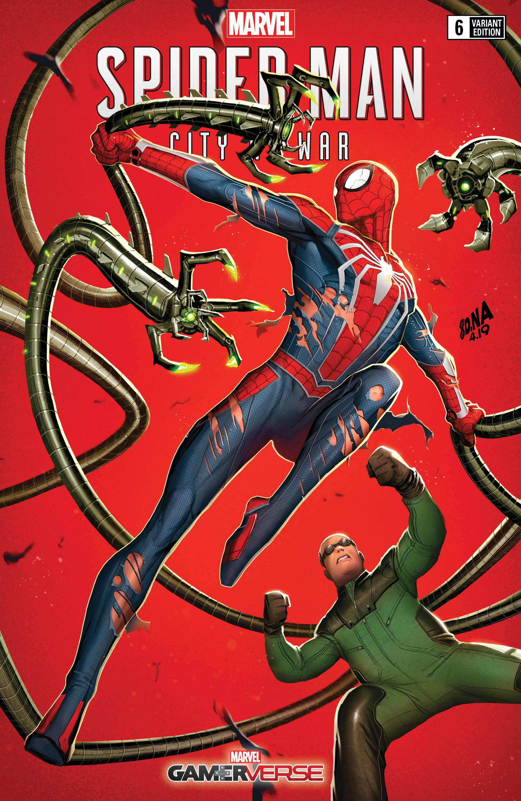 Marvel's Spider-Man: City at War (2019) #6 (Variant)