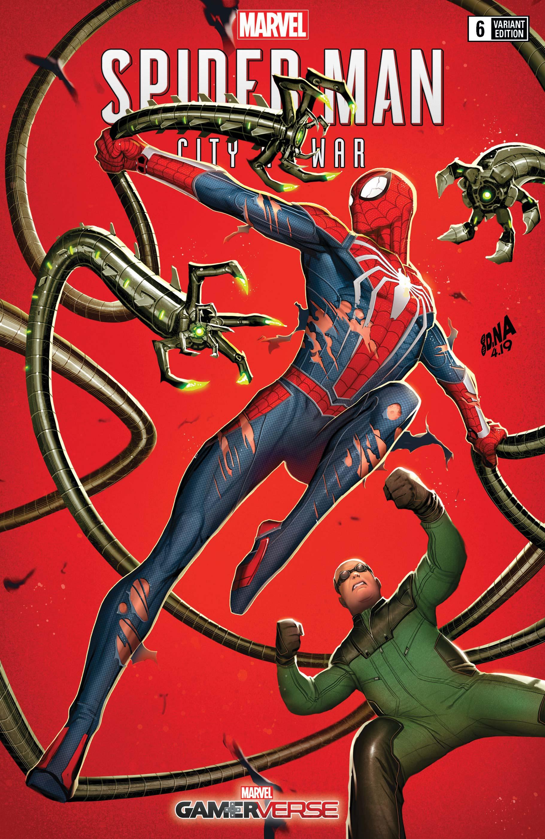 Marvel's Spider-Man: City at War (2019) #6 (Variant)