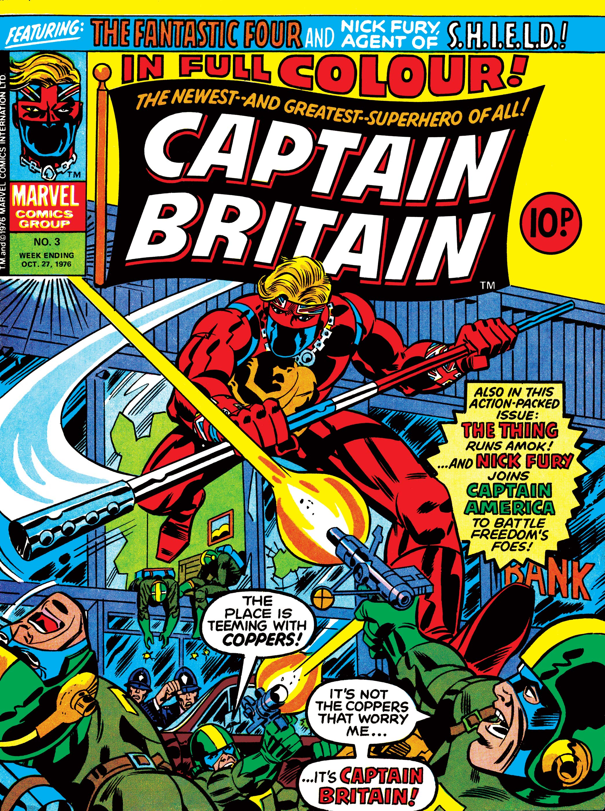 Captain Britain (1976) #3