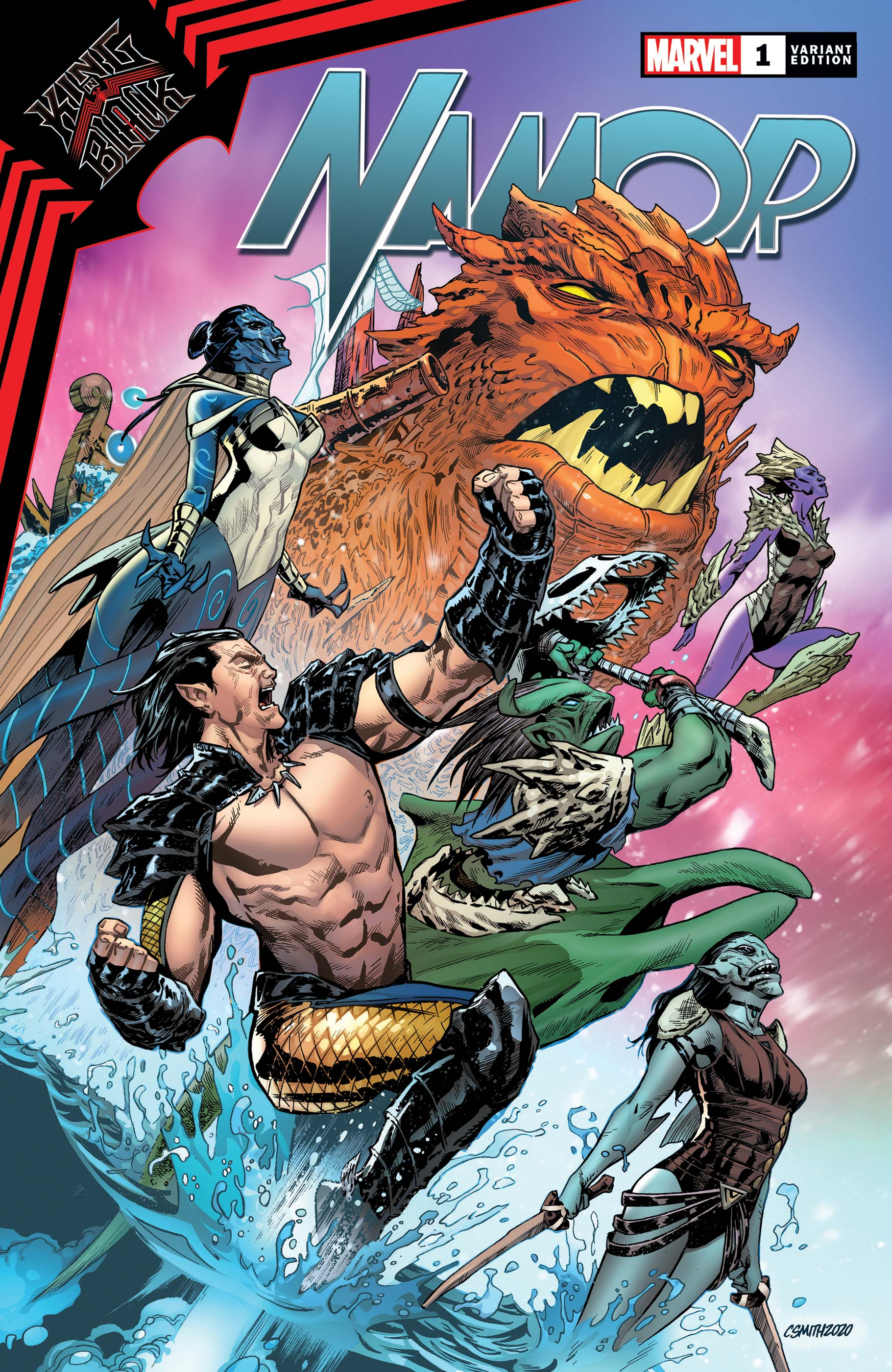 King in Black: Namor (2020) #1 (Variant)