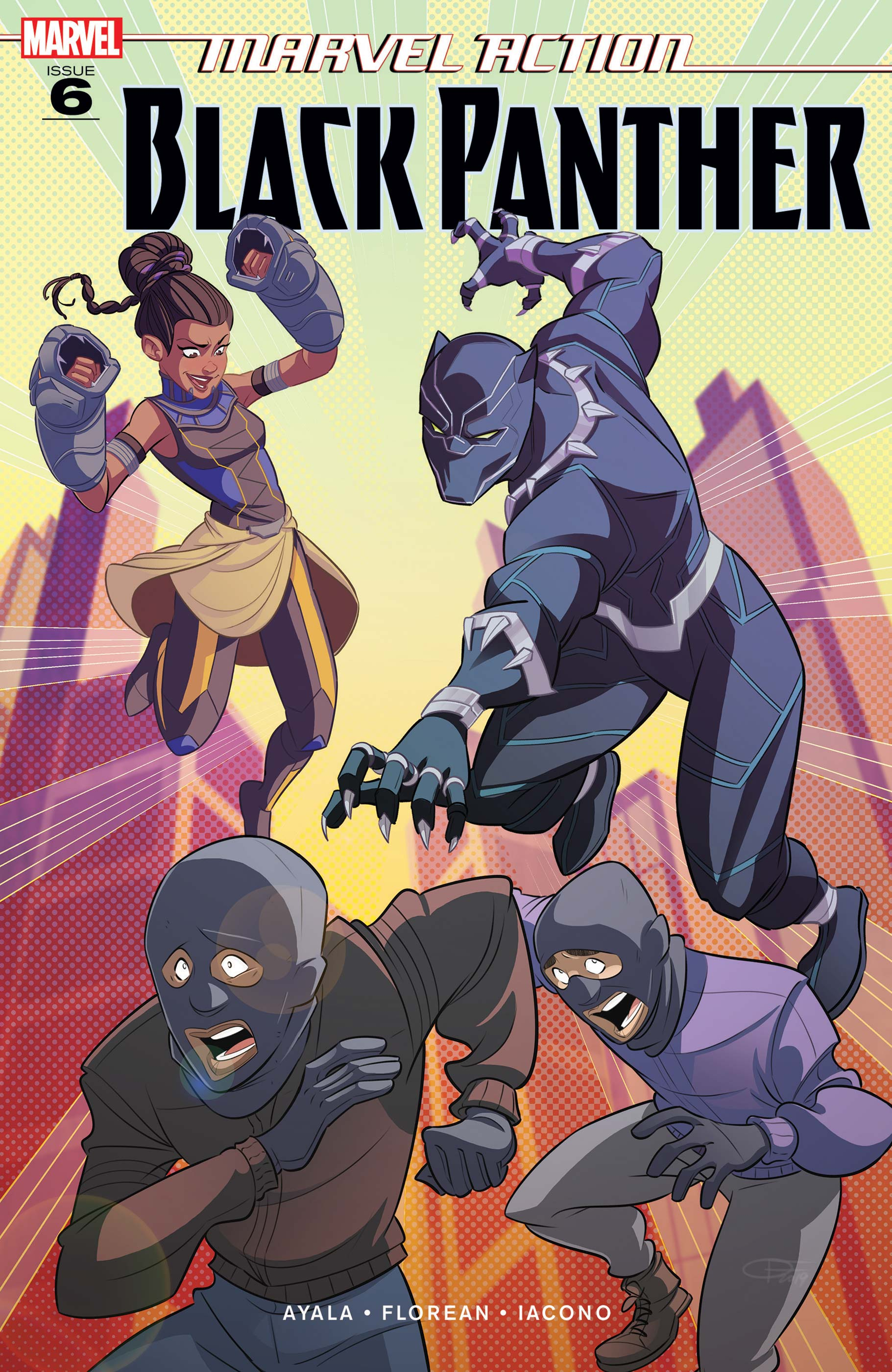 Marvel Action Black Panther (2019) #6