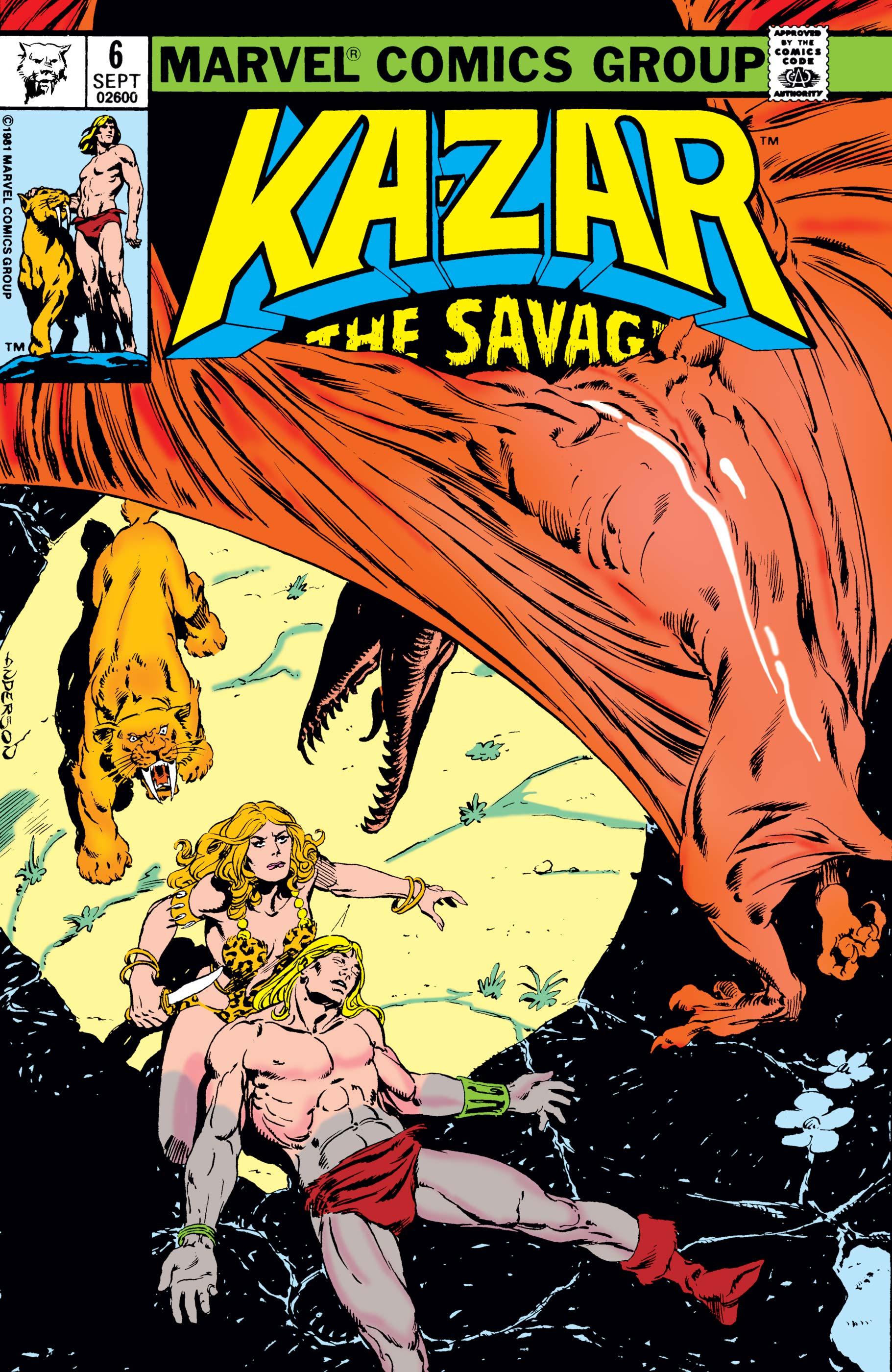 Ka-Zar (1981) #6