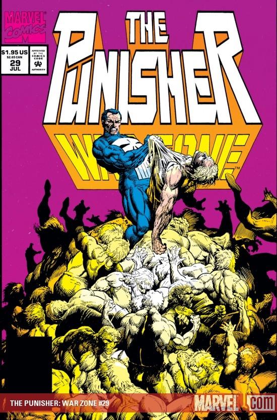 The Punisher War Zone (1992) #29