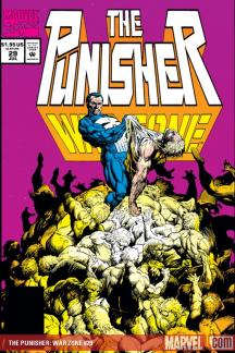 The Punisher War Zone (1992) #29