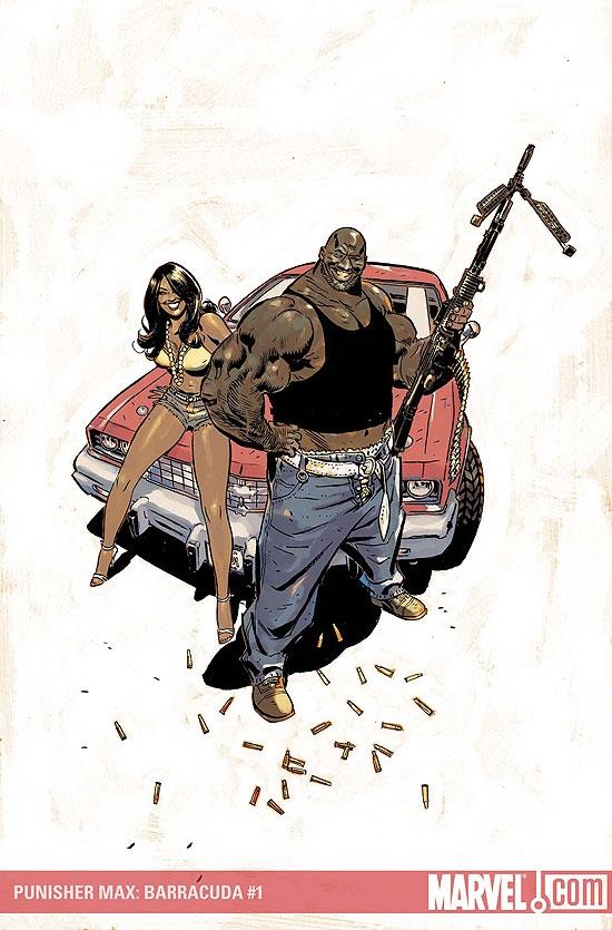Punisher Presents: Barracuda Max (2007) #1