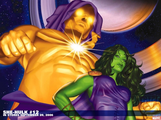 She-Hulk (2004) #12 Wallpaper