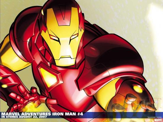 Marvel Adventures Iron Man (2007) #4 Wallpaper
