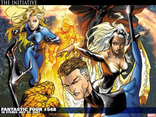 Fantastic Four (1998) #548 Wallpaper