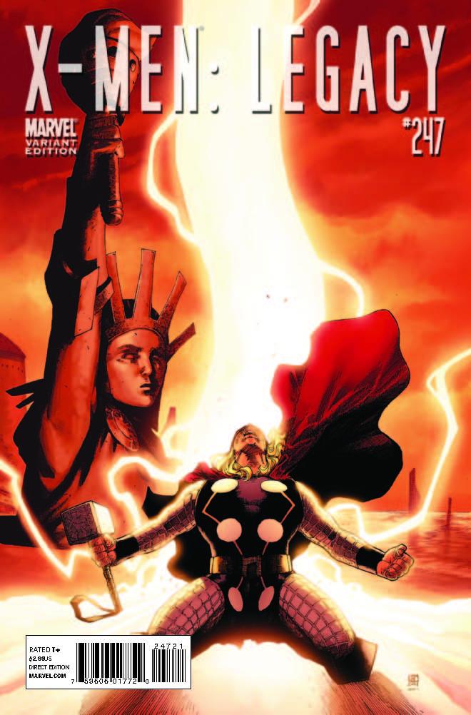 X-Men Legacy (2008) #247 (THOR HOLLYWOOD VARIANT)