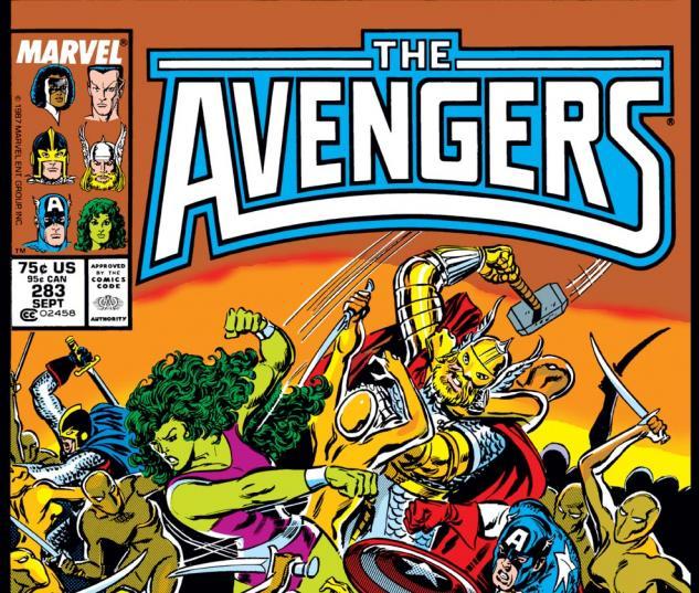Image result for avengers 283