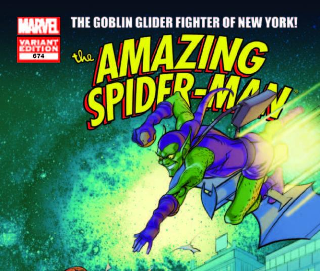 AMAZING SPIDER-MAN 674 MC 50TH ANNIVERSARY VARIANT