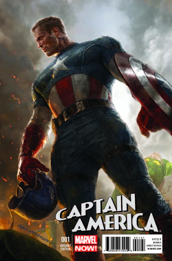 Captain America (2012) #1 (Meinerding Variant)