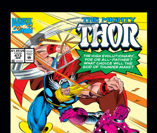 Thor (1966) #473 Cover