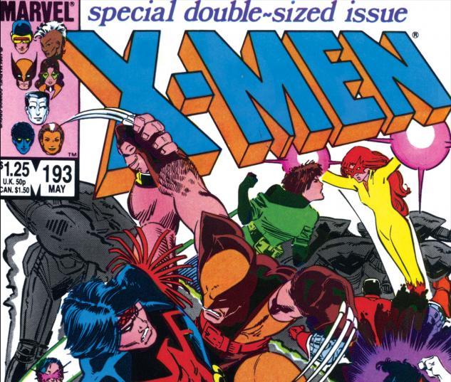 Uncanny X-Men (1963) #193 Cover